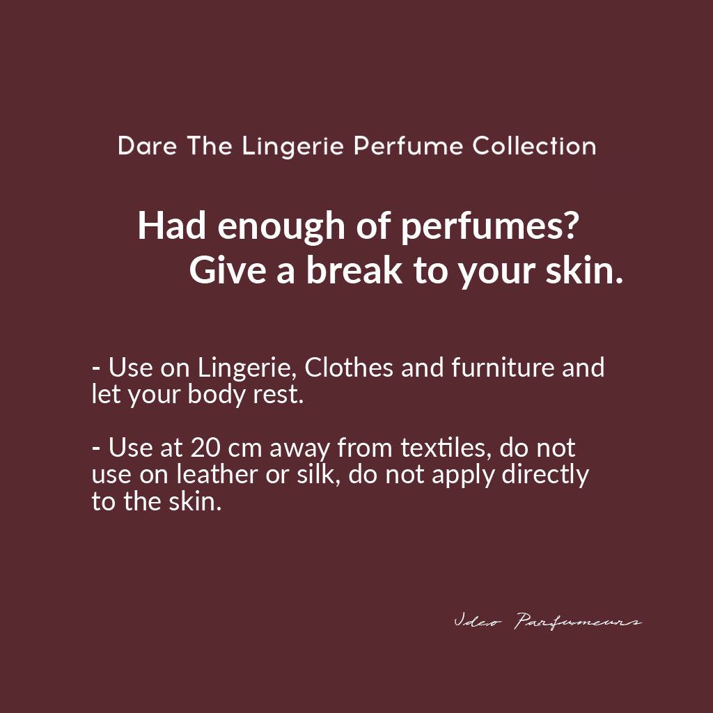 how to use the lingerie perfume by ideo parfumeurs
