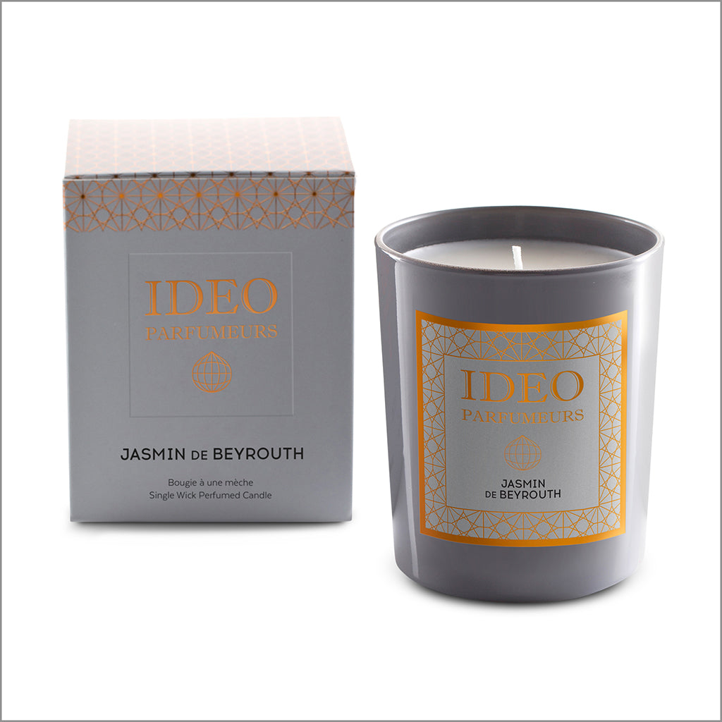 Jasmin De Beyrouth - scented candle | Ideo Parfumeurs