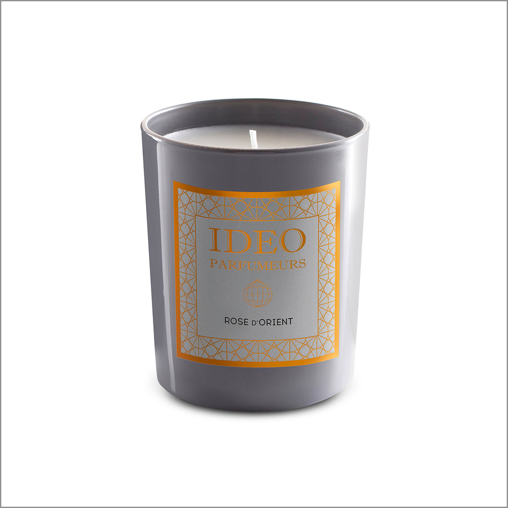 Rose d'Orient - scented candle | Ideo Parfumeurs