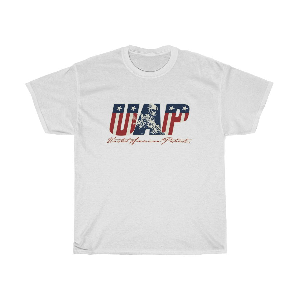 We Are United American Patriots - Heavy Cotton Tee