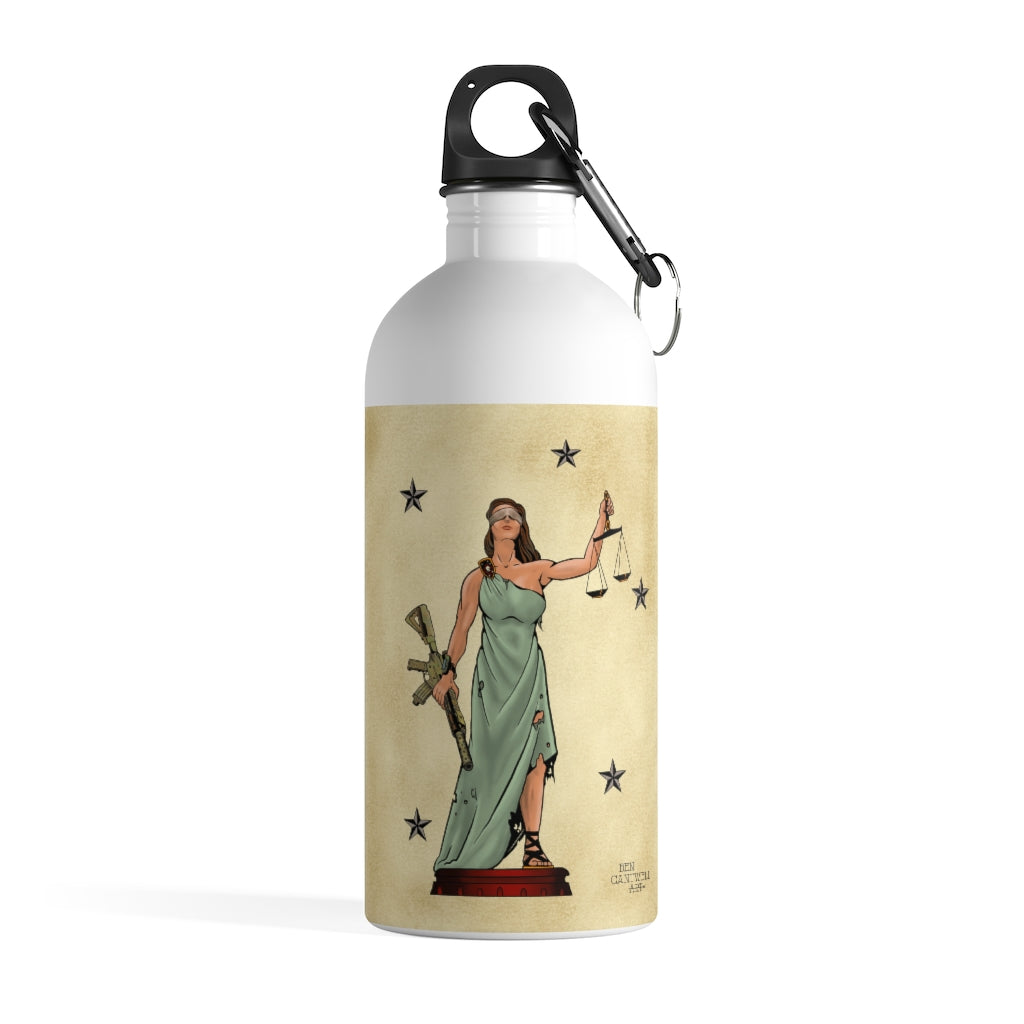 Lady Justice - Stainless Steel Water Bottle