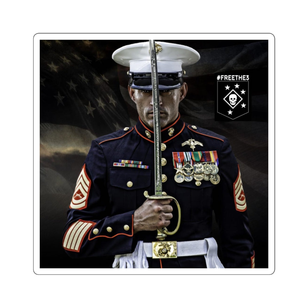 MARSOC 3 - Josh Negron - Supporter Sticker