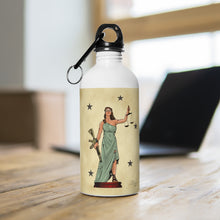 Load image into Gallery viewer, Lady Justice - Stainless Steel Water Bottle