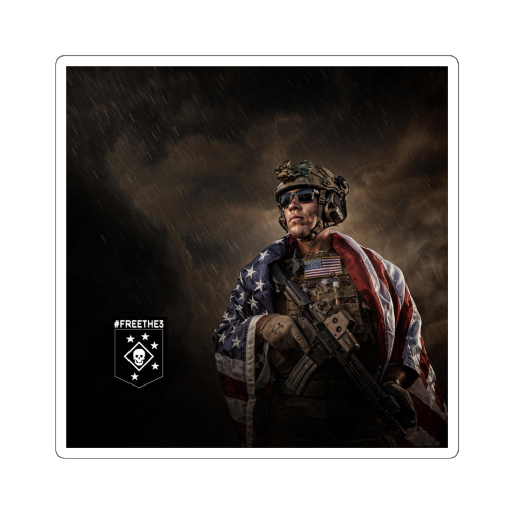 MARSOC 3 - Danny Draher - Supporter Sticker