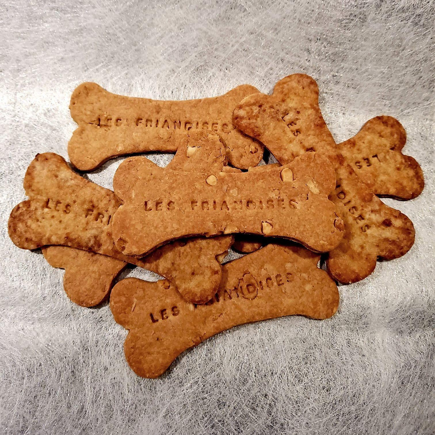 Peanut butter treats - Les friandises