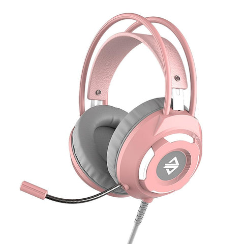 Trådat Gaming Headset Med Surround Ljud