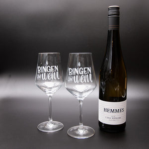 Laden Sie das Bild in den Galerie-Viewer, Set Weingläser & I sell Riesling