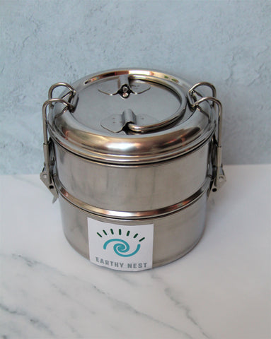 Stainless Steel 2 Tier Tiffin Box