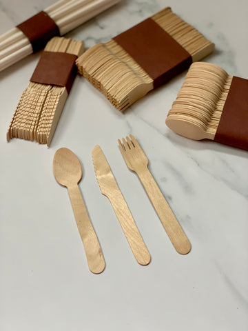 Birchwood Eco Friendly Disposable Cutlery (Set of 140)