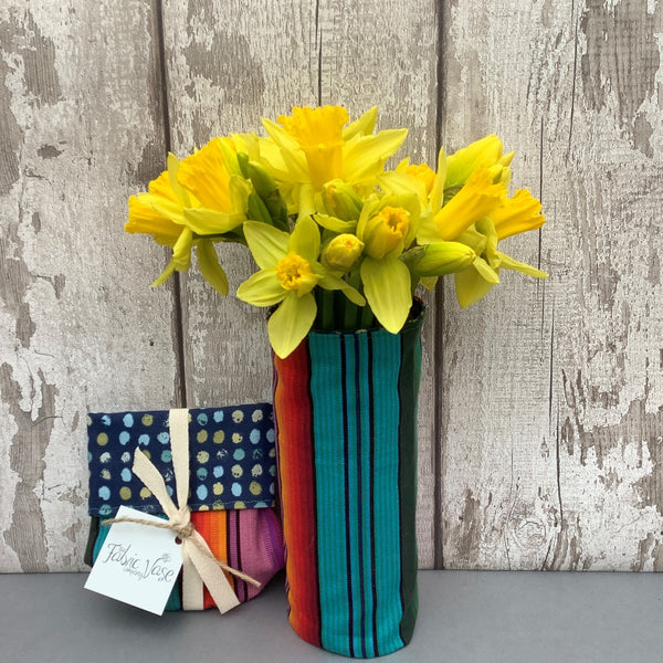 Millie Fabric Vase Cover