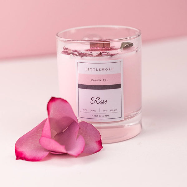 Rose Jar  Candle