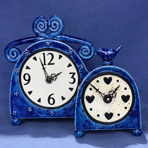 Sent Blue Alice Clock