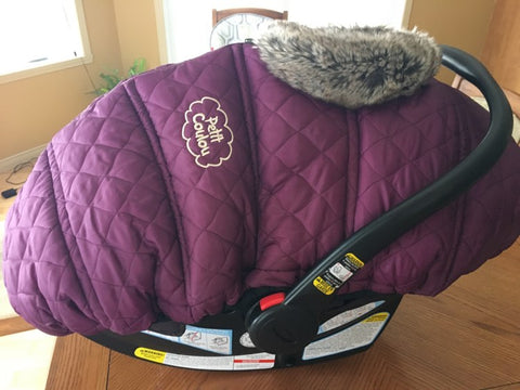 baby seat fall and winter cover bblüv