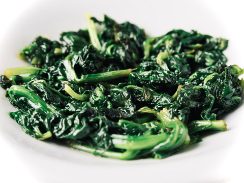 Braised Spinach with Shallots and Butter