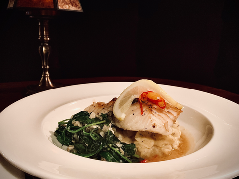 Pan-Seared Chilean Sea Bass