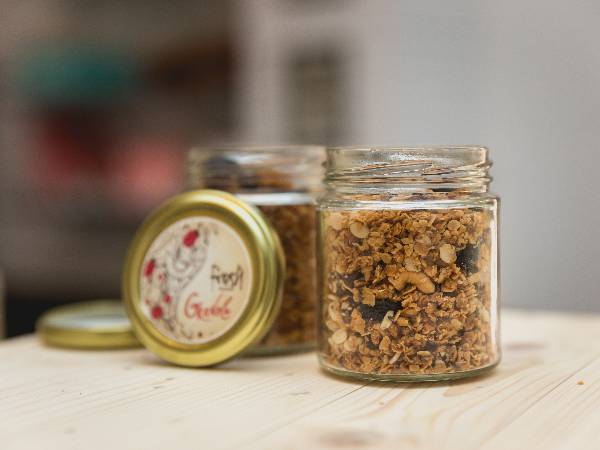 Superfood Granola Jar