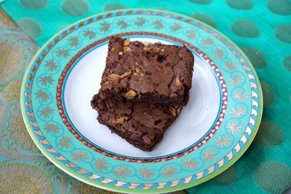 Gluten Free Walnut Chocolate Brownies [12 Pieces]