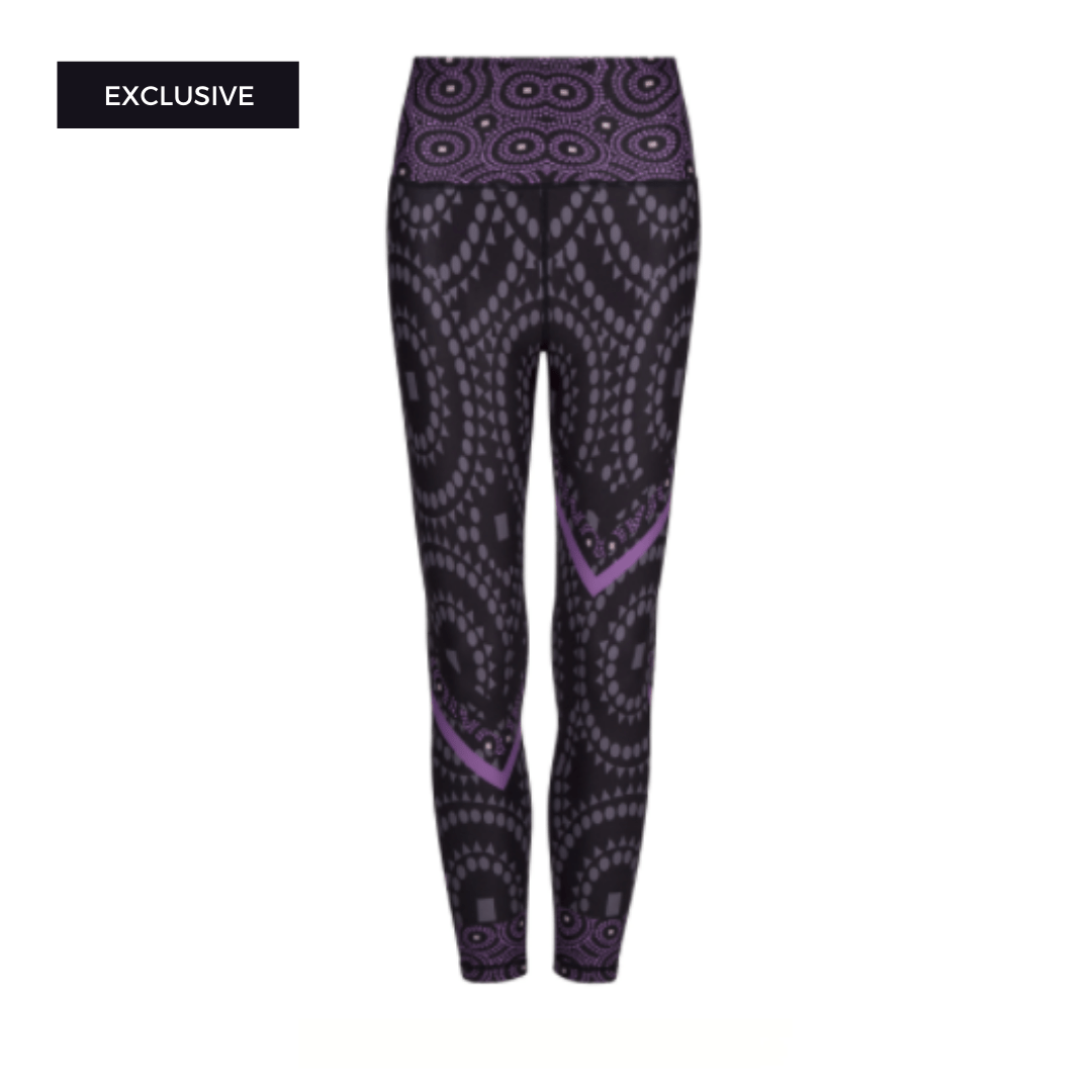 Afrifitness Leggings XXL Signature Splash Leggings
