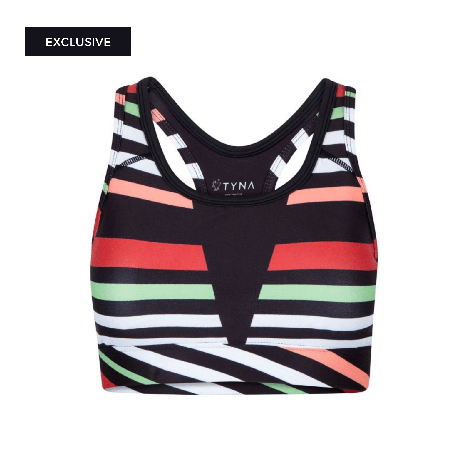 Afrifitness Tops XS Aso-Oke Splash Sports Bra