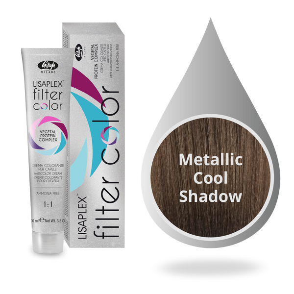Lisaplex Filter Color Metallic Cool Shadow