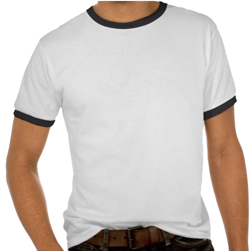 Sample T-Shirt with two side view