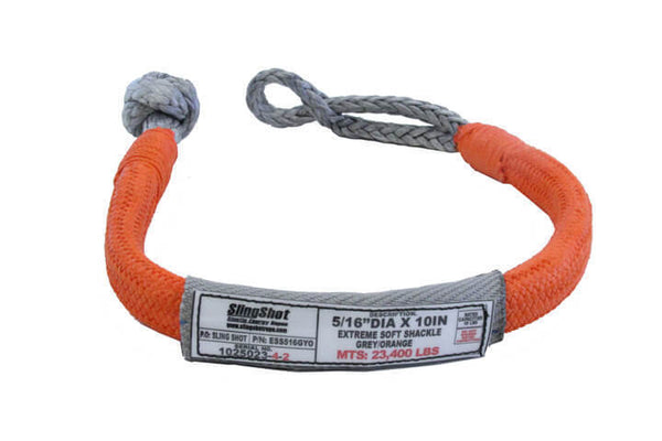 "5/16"" Slingshot Extreme Soft Shackle"