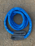 Custom Amsteel-Blue Dyneema Recovery Tow Ropes (1,400lb - 750,000lb)