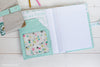 north pond notebook cover sewing pattern | shop radiant home studio