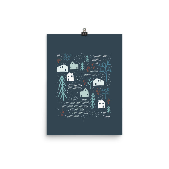 Neighbor Gift Raised | Neighborly Art Print | Radiant Home Studio