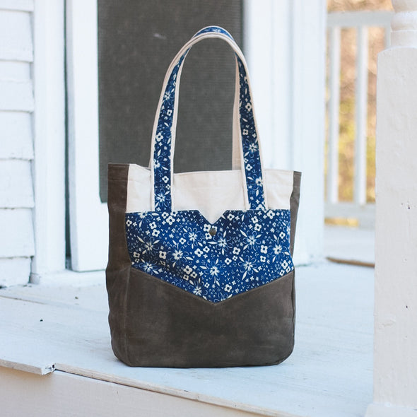 penfield pocket tote sewing pattern | shop radiant home studio