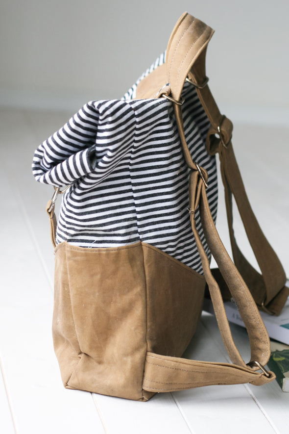 retro rucksack sewing pattern | shop radiant home studio