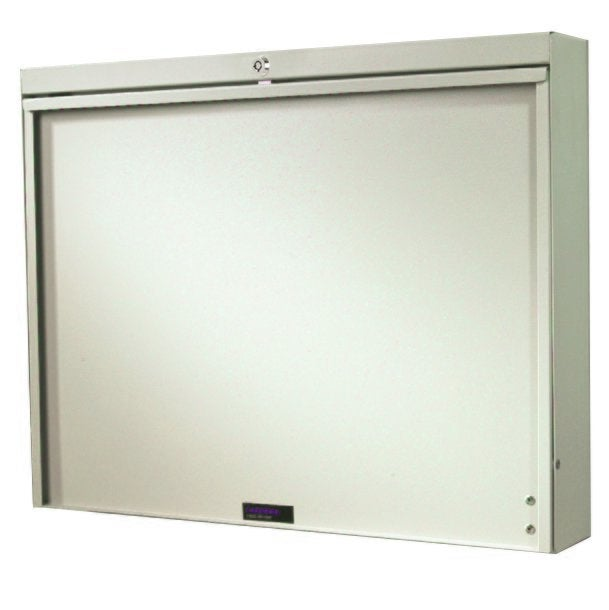 "Basic Wide Wall-Mounted Workstation, 25.63""W x 20""H x 4""D, ECONOroo™ 6640 Series"