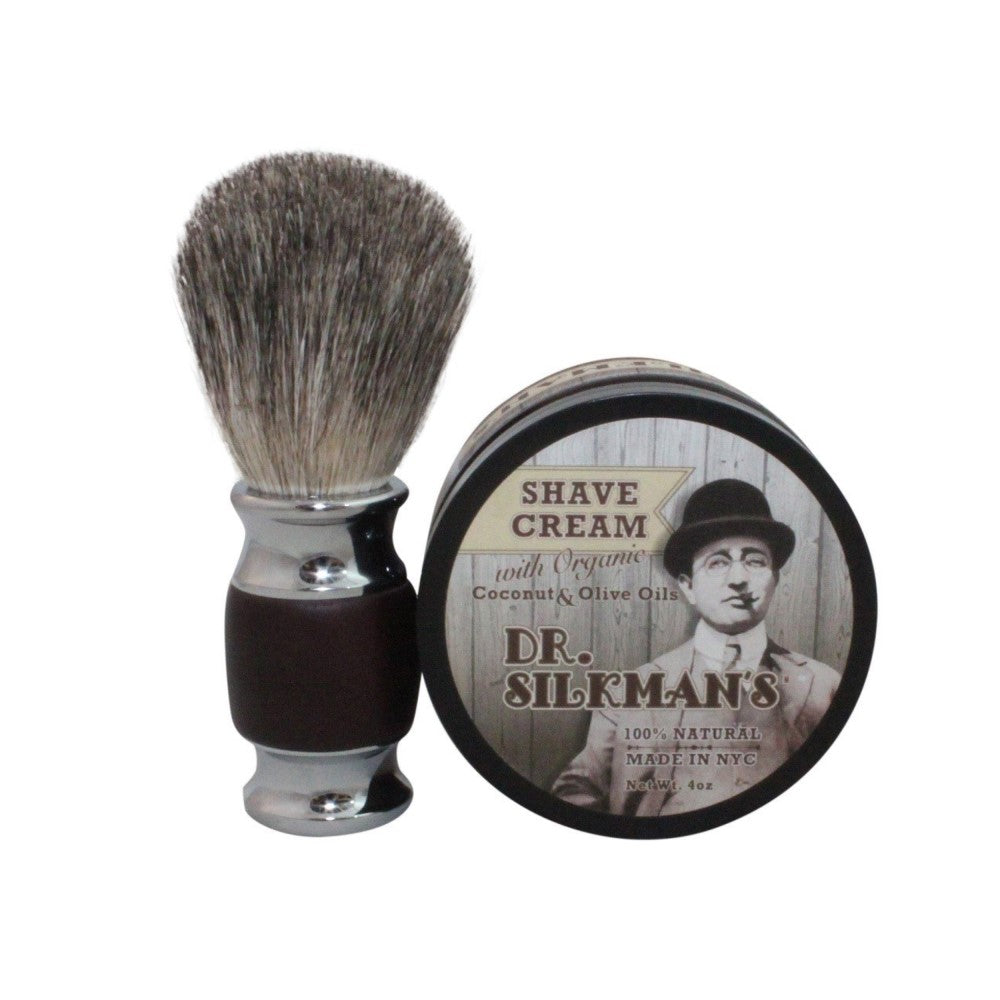 All Natural Shave Cream - Dr. Silkman's