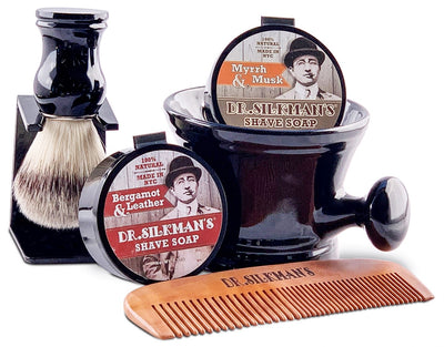 Deluxe Wet Shave Kit - Dr. Silkman's