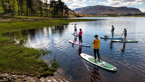 Stand up paddle boards Glasgow Camping