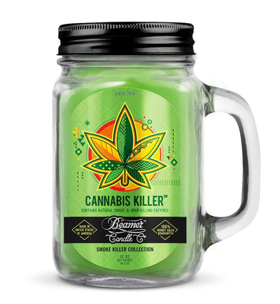 CANNABIS ODOR ELIMINTOR CANDLE - Dirt Buster