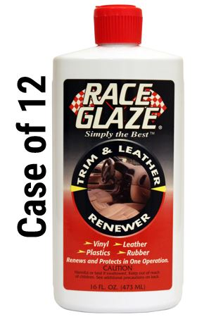 Race Glaze Auto Trim & Leather Renewer- Case of 12