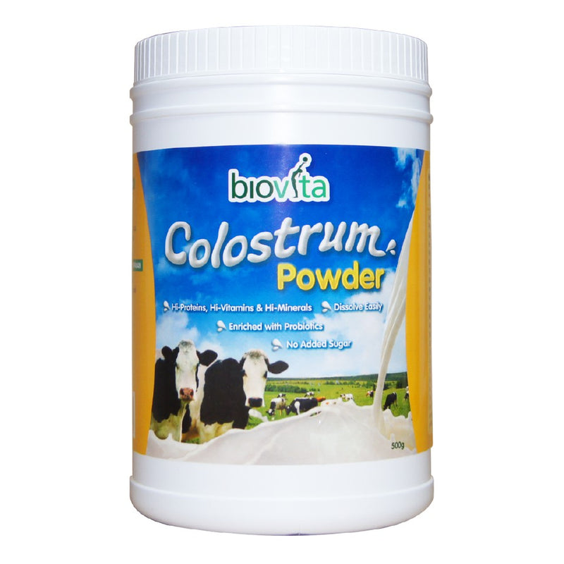 BIOVITA COLOSTRUM POWDER 500GM