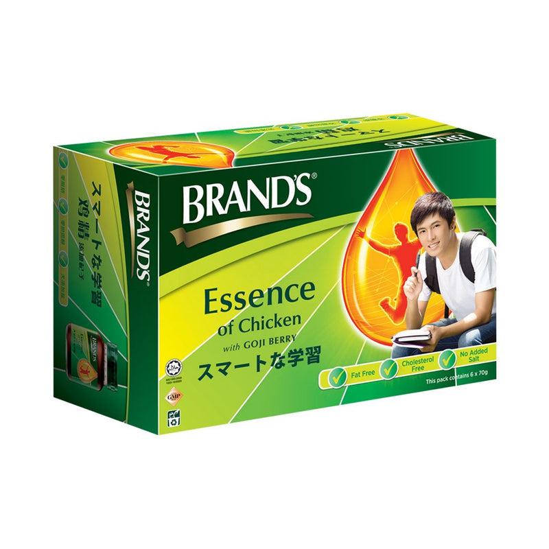 Brand's Essence of Chicken with Goji Berry 6's x 2 packs