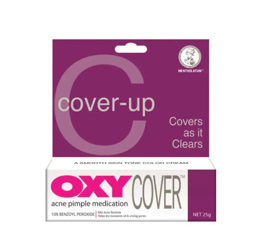 Oxy Cover-up Acne Pimple Medication 25g