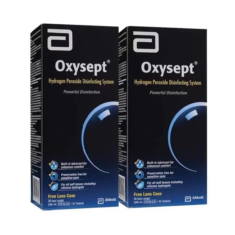 Oxysept Oxygen Cleaning 360mlx2 (Twin Pack)