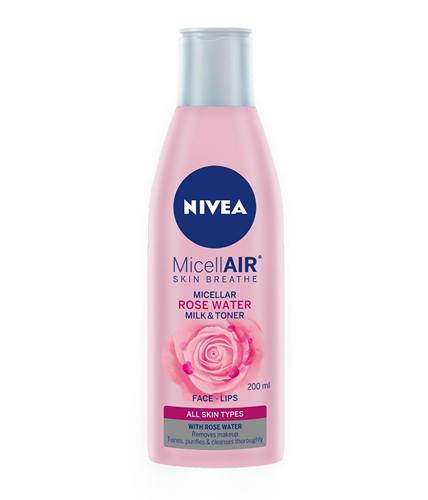 Micellar Skin Breathe Rose Water Milk & Toner 200ml