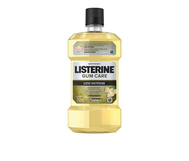 Listerine Mouthwash Gum Care Less Intense 250ml