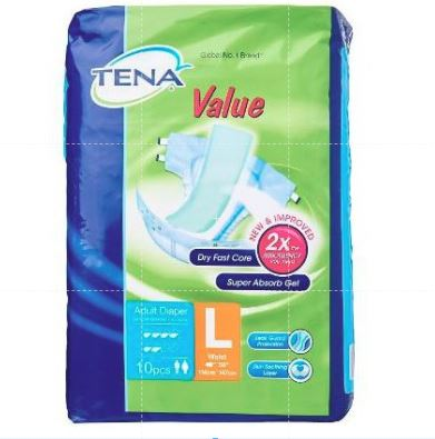 TENA VALUE L 8X10'S