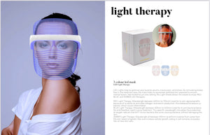 LED Mask-3 Light Wavelengths