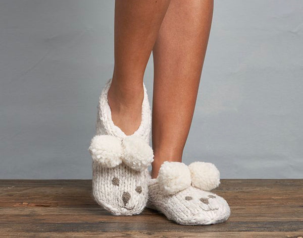 LEMON COLLECTION-Womens Iceland Bear Bootie/powder