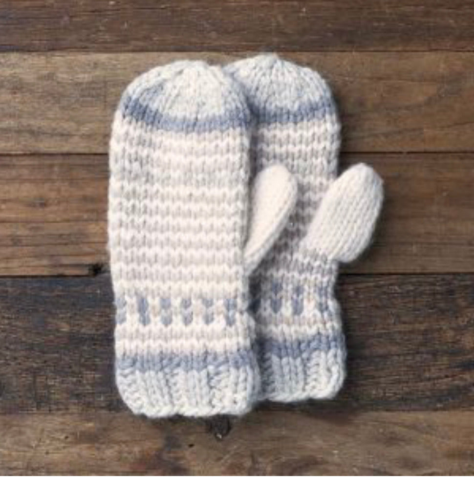 LEMON COLLECTION-Womens Cottage Ski Mitten -