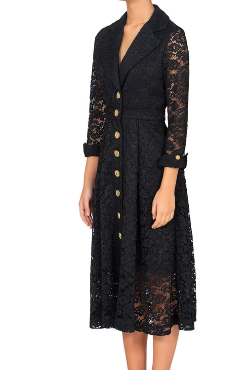 Eternity Black Lace Dress