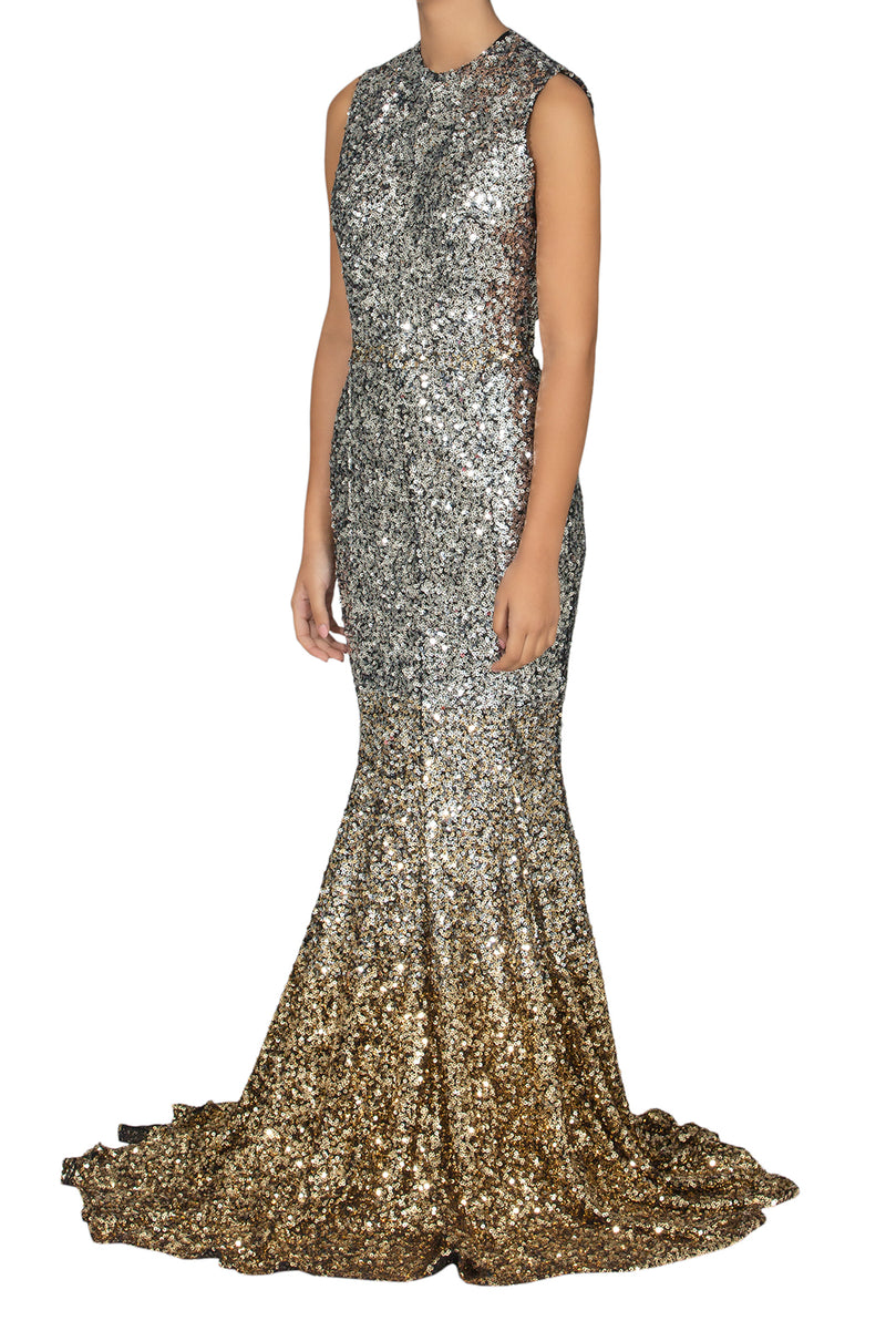 Star Sequins Dress