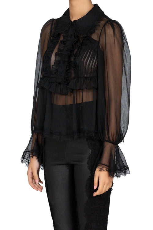 Seduction Silk Blouse